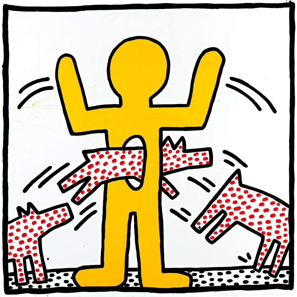Image result for keith haring